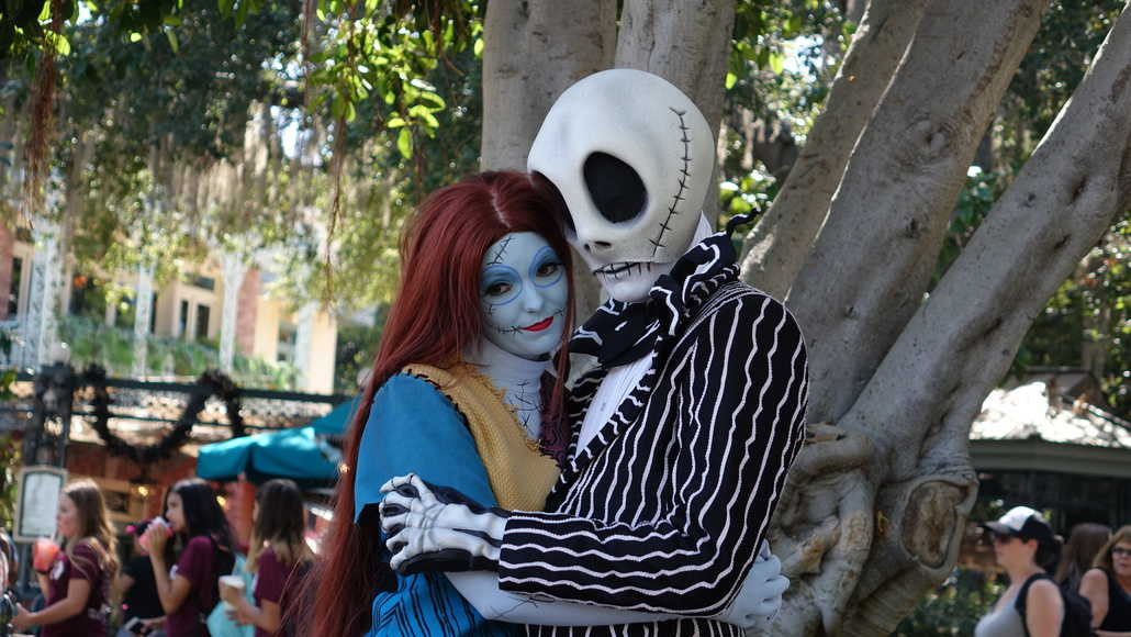 Jack Skellington and Sally Disneyland Halloween (20 ...