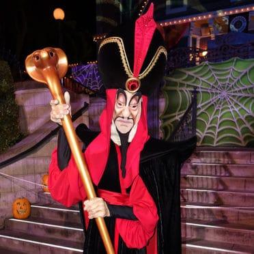 Jafar at Disneyland Mickey's Halloween Party 2015