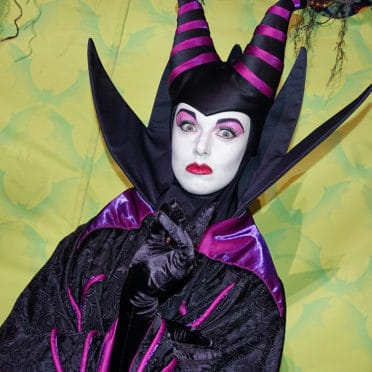 Maleficent at Disneyland Mickey's Halloween Party 2015