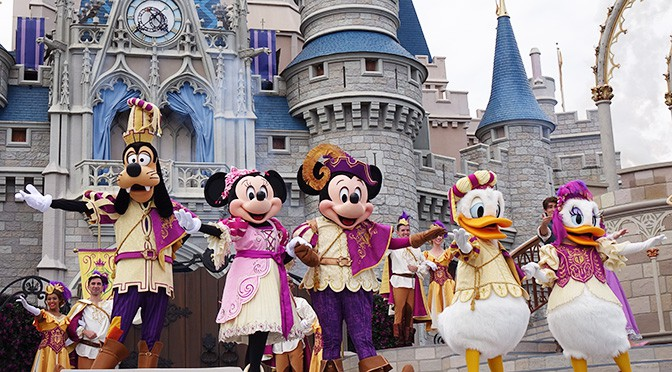 Mickey's Royal Friendship Faire at the Magic Kingdom in Walt Disney World (1)