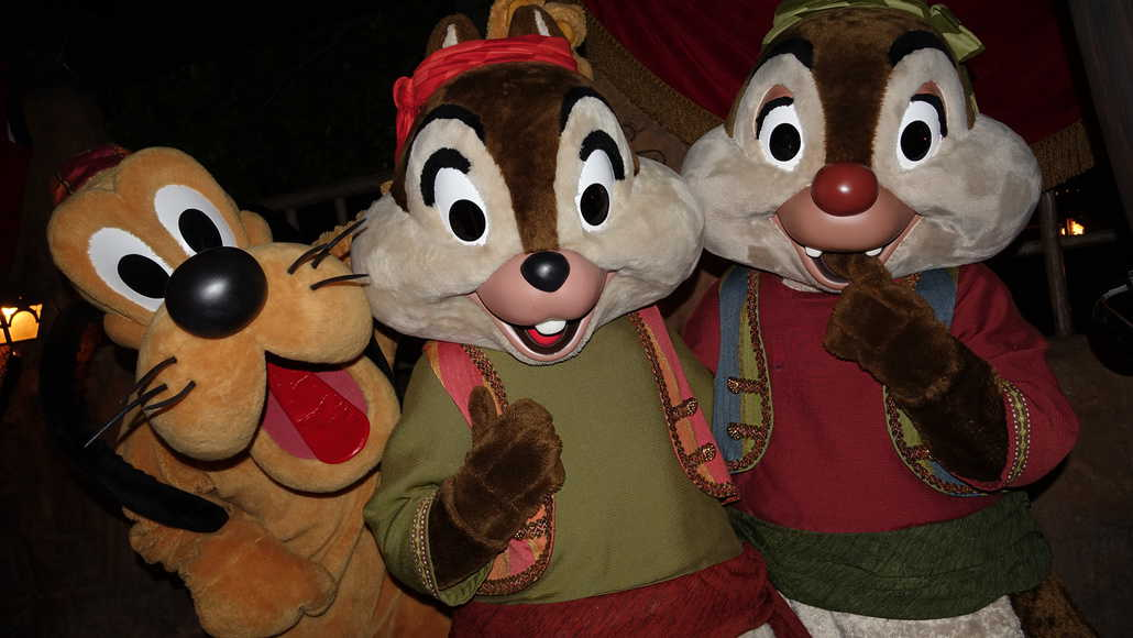 Pluto Chip n Dale Pirates Disneyland Mickey's Halloween Party 2015 ...