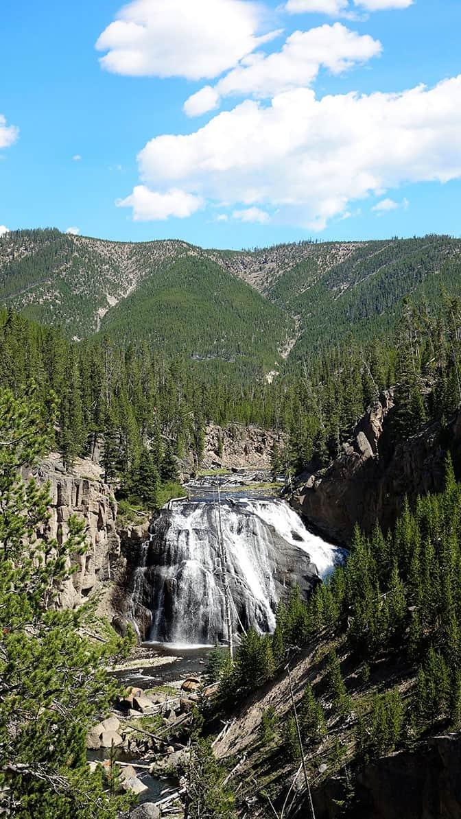 Yellowstone Day Gibbon Falls