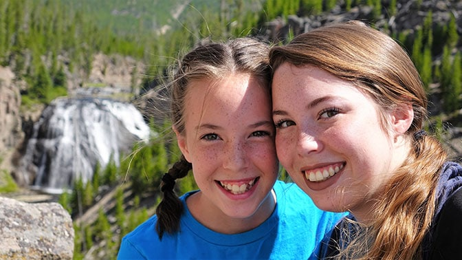 Yellowstone Day 2 Gibbon Falls