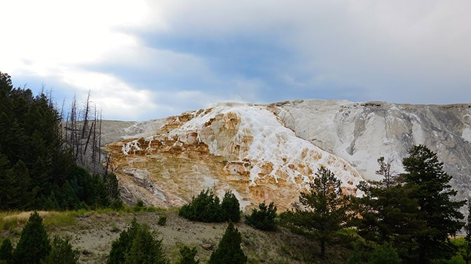 Yellowstone Day Mammoth Hot Springs Terraces
