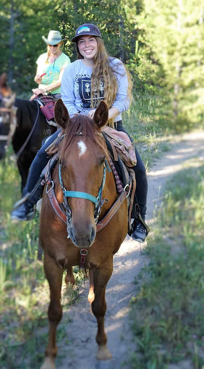 Yellowstone Day 4 Diamond P Ranch Horse Rides