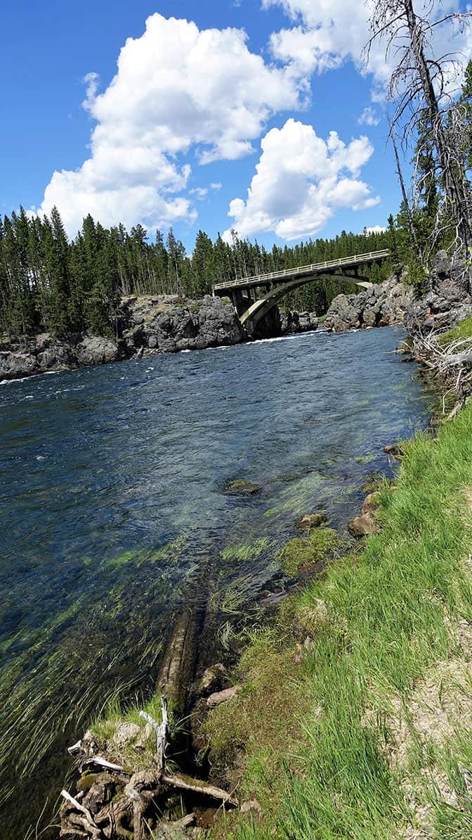 Yellowstone Day 5 rushing river