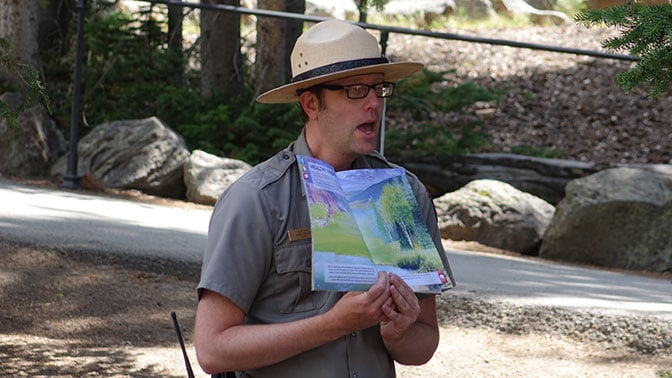Yellowstone Day 5 Park Ranger Talk
