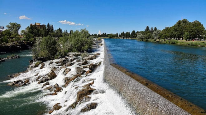 Yellowstone Trip Day 1 Idaho Falls