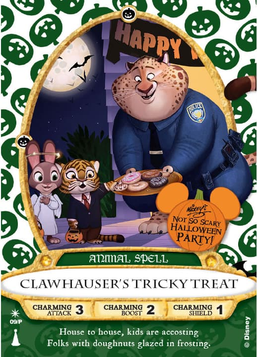 Mickey's Not So Scary Haloween Party Sorcerers of the Magic Kingdom to feature Clawhauser b