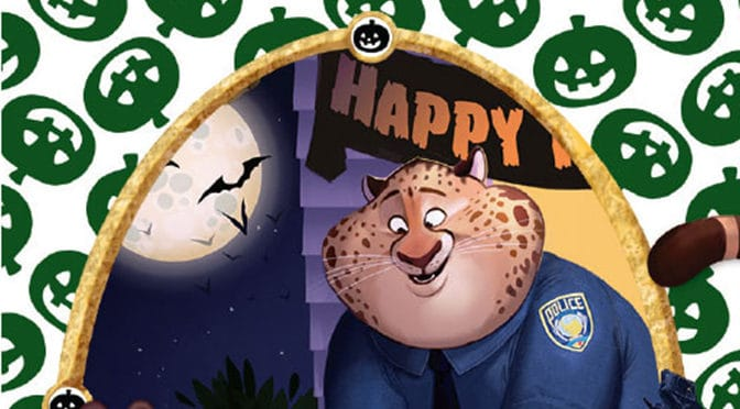 Mickey's Not So Scary Halloween Party exclusive Sorcerers of the Magic Kingdom card to feature Clawhauser