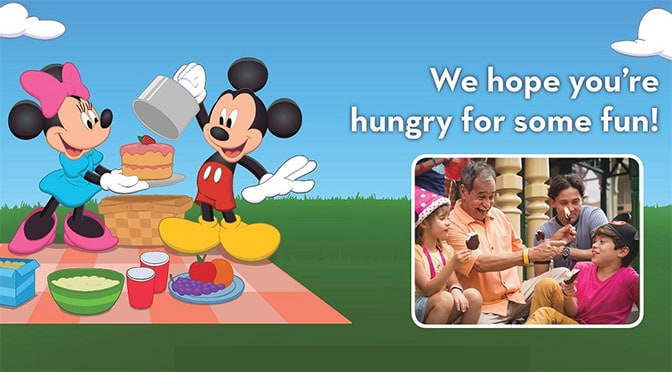 Disney World Play, Stay and Dine offer for 2017
