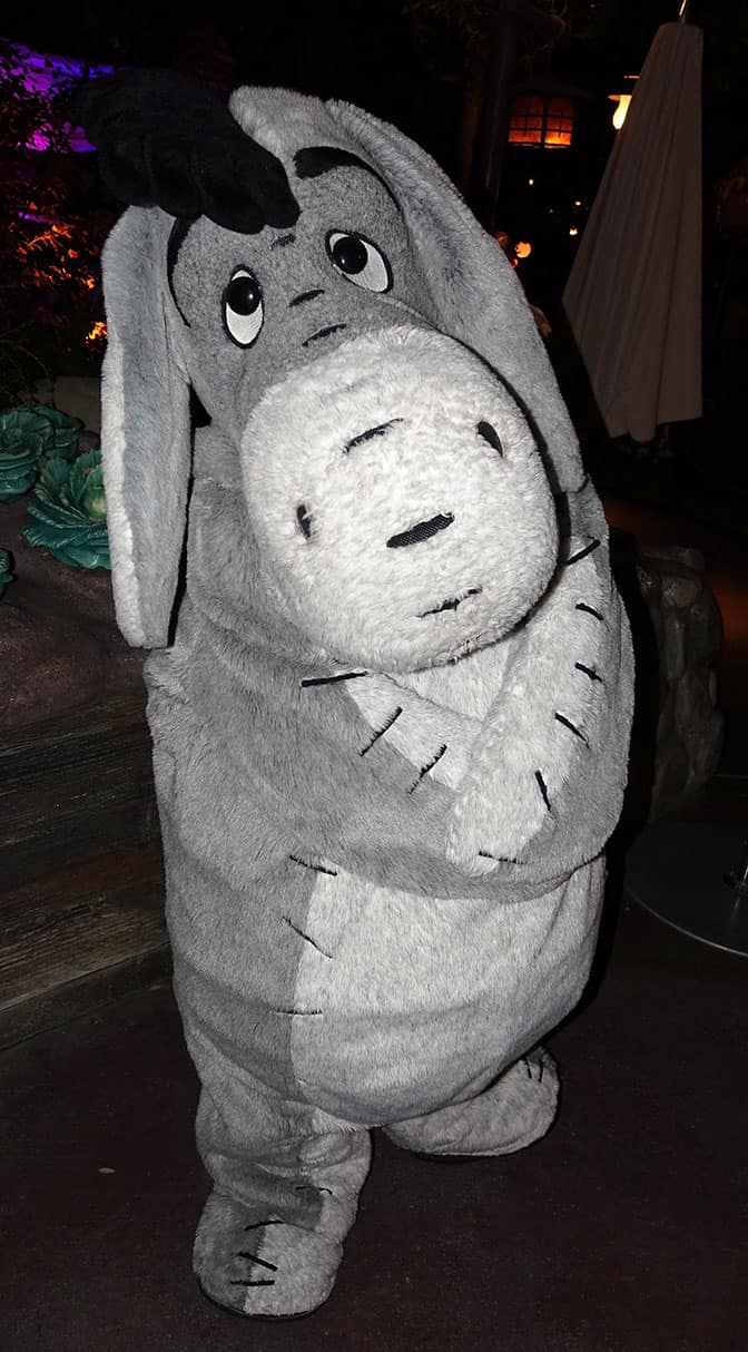 Eeyore at Mickey's Halloween Party 2016 - KennythePirate.com