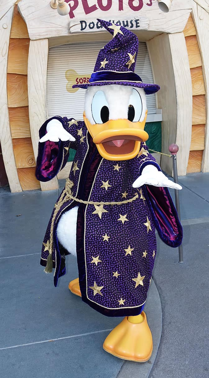 Donald Duck at Mickey's Halloween Party 2016 - KennythePirate.com ...