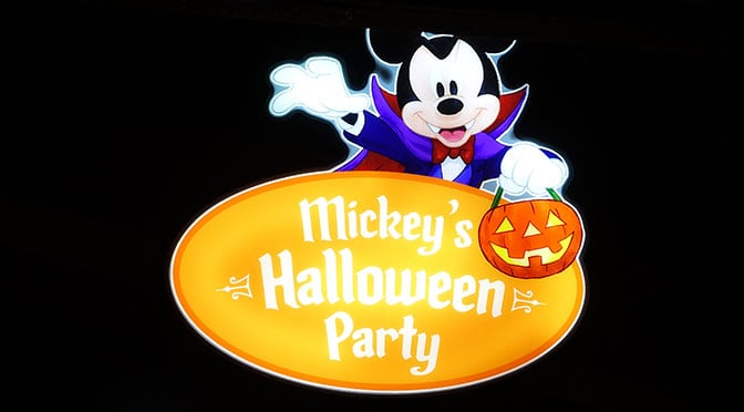 Review:  1st Mickey's Halloween Party at Disneyland