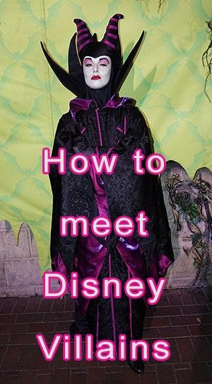 How to meet Disney Villains at Walt Disney World