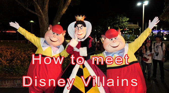 How to meet Disney Villains at Walt Disney World