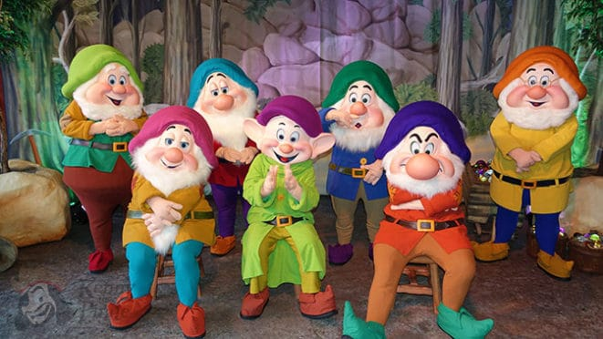 Seven Dwarfs meet and greet