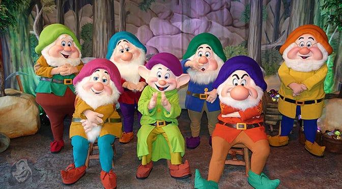 Seven Dwarfs meet and greet