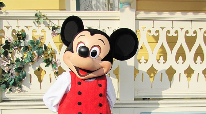 Worldwide Wednesday Mickey Mouse in his St. David's Welsh costume