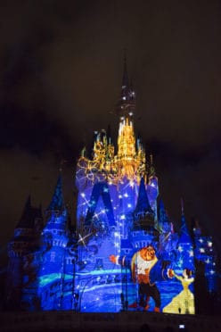 once-upon-a-time-projection-show-comes-to-magic-kingdom-belle-and-beast
