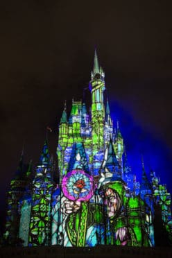 once-upon-a-time-projection-show-comes-to-magic-kingdom-stained-glass