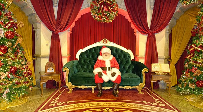 Santa has arrived at Disney's Hollywood Studios!