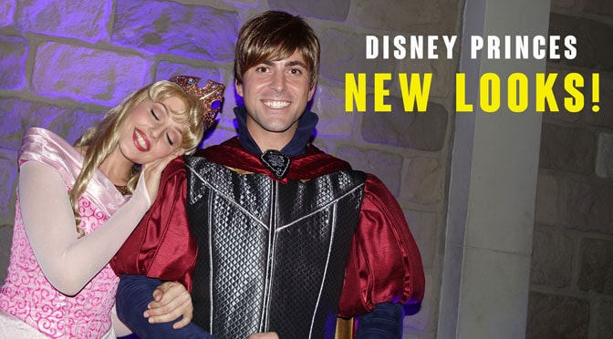 Disney Princes get GREAT new looks!