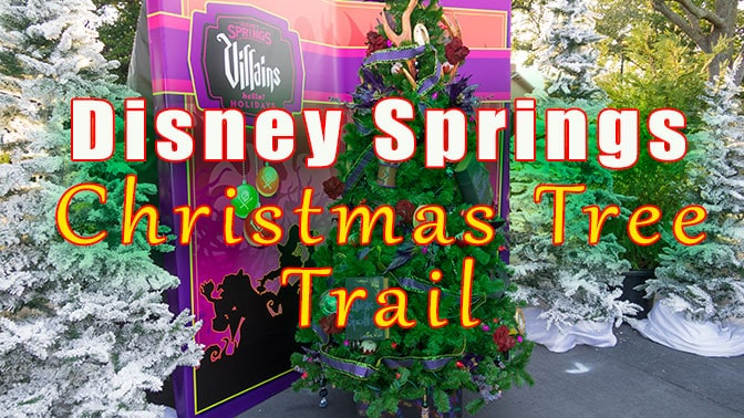 complete review of the disney springs christmas tree trail with over 70 images kennythepiratecom - Disney Christmas Trees