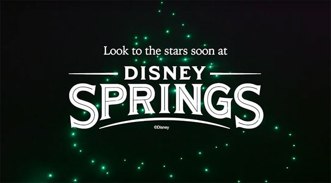 Disney Springs debuting all new hoiday themed light show featuring DRONES