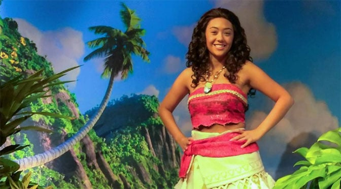 Moana is now meeting at Disney's Hollywood Studios!