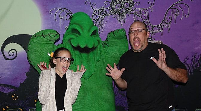 How we met Oogie Boogie in under 45 minutes on Halloween Night