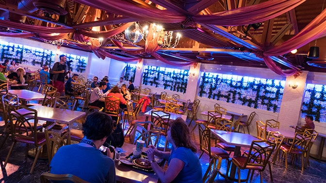 PizzeRizzo Restaurant in Hollywood Studios at Walt Disney World
