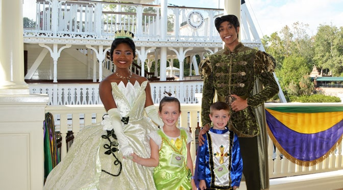 REVIEW:  Tiana's Riverboat Party Ice Cream Social and Parade Viewing
