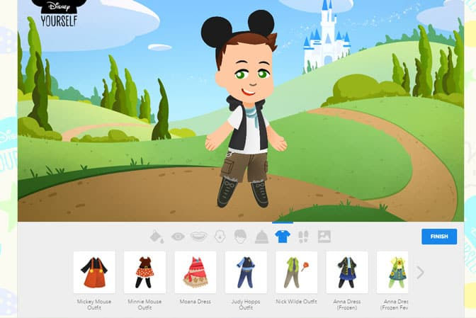 Disney Yourself clothes
