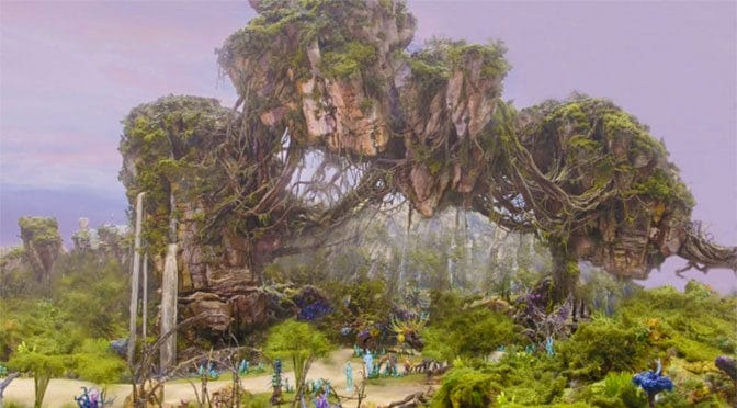 More evidence pointing to potential Pandora: The World of Avatar grand opening date