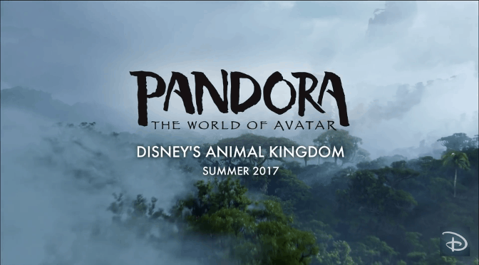 Registration now open for Annual Passholder Previews for Pandora in Animal Kingdom