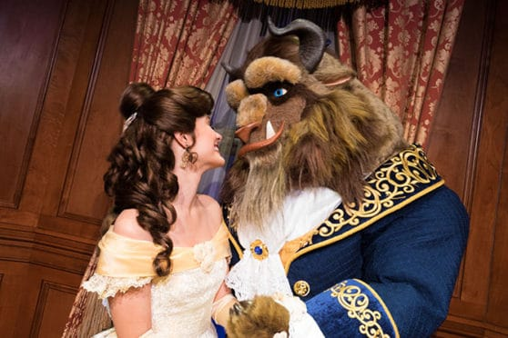 Disney Vacation Club Moonlight Madness 2017 Belle Beast