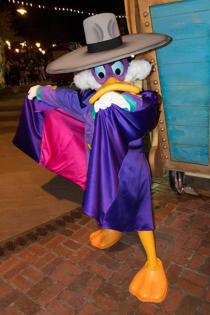 Disney Vacation Club Moonlight Madness 2017 Darkwing Duck