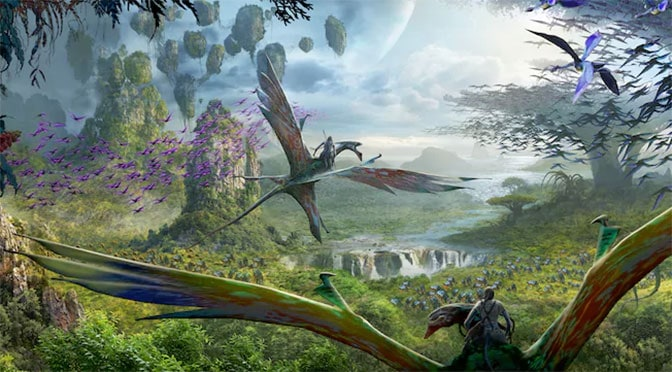 Details released for Pandora including rides, height limits, Fastpass+ and dining!