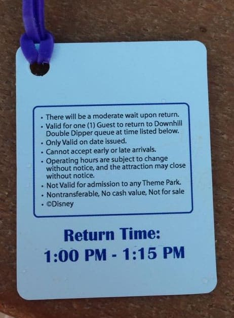 How the Virtual queue system test actually functions at Disney Water Parks