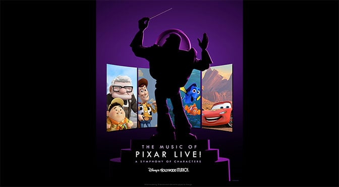 The Music of Pixar Live coming to Disney's Hollywood Studios