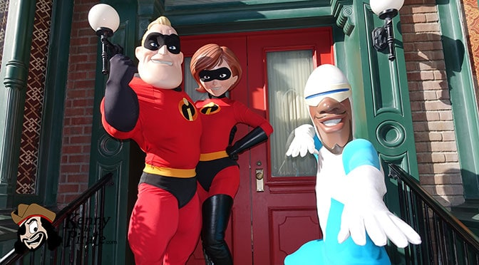 Mr. Incredible to appear for meet and greets for a limited time