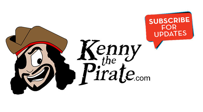 Subscribe to KennythePirate.com via Email