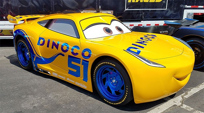 cruz ramirez from cars 3 is coming to disney 39 s hollywood studios. Black Bedroom Furniture Sets. Home Design Ideas