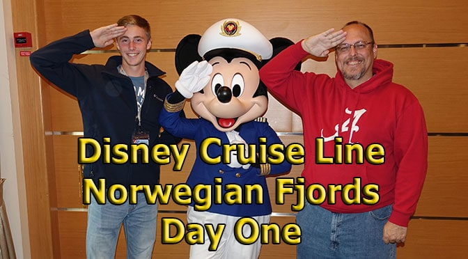Disney Cruise Line Norwegian Fjords Cruise – Day One Achors Away and a look around the ship
