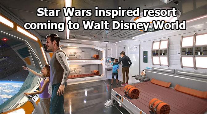 Star Wars inspired resort coming to Walt Disney World