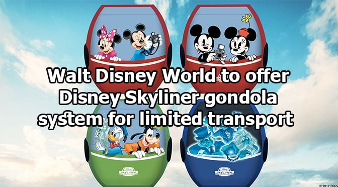 Walt Disney World Gondolas will not offer Air Conditioning