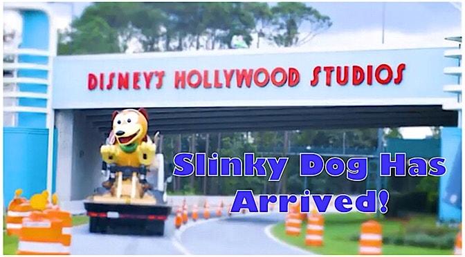 Slinky Dog Has Arrived!