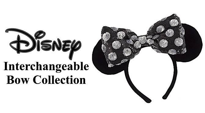 Disney Interchangeable Bow Collection