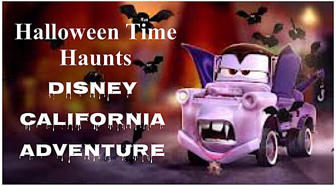 Halloween Time Haunts Disney California Adventure